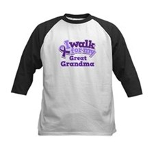 Alzheimers Walk For Great Grandma Tee