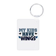 'My Kids Have Wings' Keychains