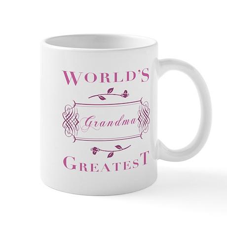 World's Greatest Grandma (Rose) Mug