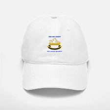 DUI - 3rd Sqdrn - 8th Cavalry Regt with Text Baseball Baseball Cap