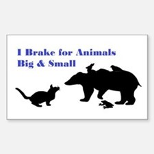 Brake For Animals Decal