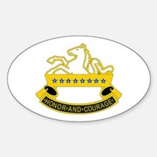 DUI - 3rd Sqdrn - 8th Cavalry Regt Sticker (Oval)