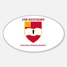 DUI - 2nd Bn - 82nd FA Regt with Text Decal