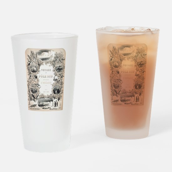 Victorian South Pole Explorer Drinking Glass
