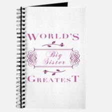 World's Greatest Big Sister (Rose) Journal