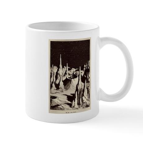 Jules Verne Lunar Surface Mug