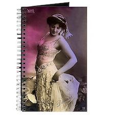 Lovely Vintage Bellydancer Journal