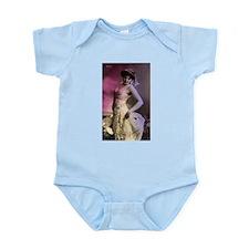 Lovely Vintage Bellydancer Infant Bodysuit