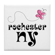 Rochester New York Pretty Tile Coaster