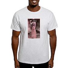 Vintage Bellydancer Pink T-Shirt
