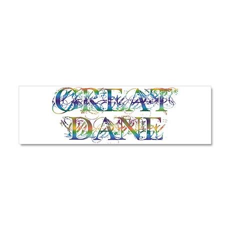 Great Dane Car Magnet 10 x 3