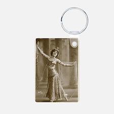 Vintage Cabaret Bellydancer Keychains