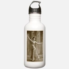 Vintage Cabaret Bellydancer Water Bottle