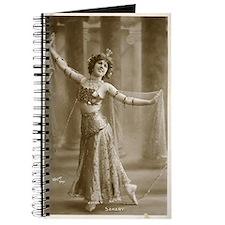 Vintage Cabaret Bellydancer Journal