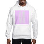 Love (pink) Hooded Sweatshirt