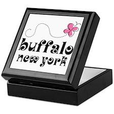 Buffalo New York Pretty Keepsake Box