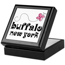 Buffalo New York Pretty Keepsake Box