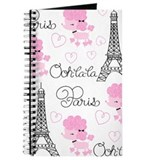 Paris girls Journals & Spiral Notebooks