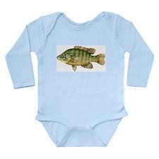 Fish Long Sleeve Infant Bodysuit