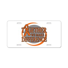 Make a Difference COPD Aluminum License Plate
