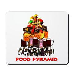 Food Pyramid Mousepad