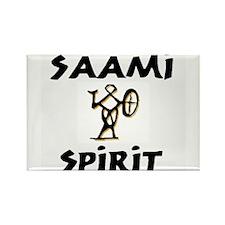 Saami Spirit Rectangle Magnet (100 pack)