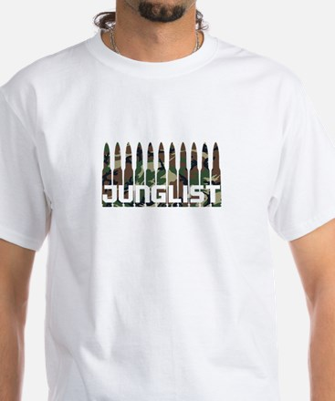 Junglist White T-Shirt