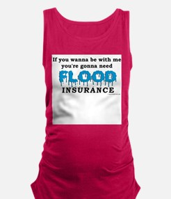 "Women's ""Flood Insurance"" Tank Top"