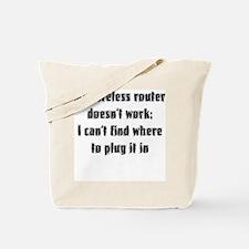Wireless Tote Bag