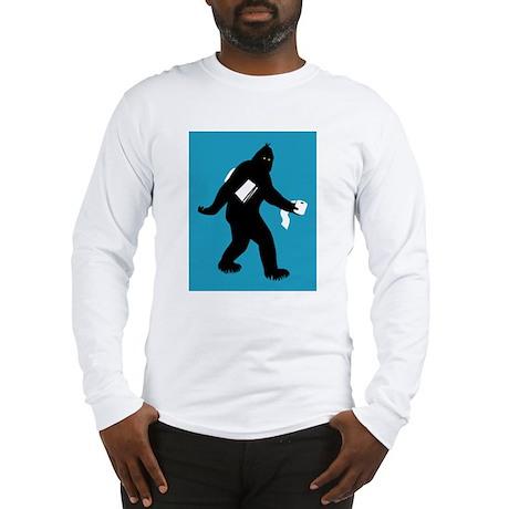Bigfoot Surprised Long Sleeve T-Shirt