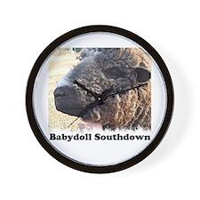 Babydoll Southdown Wall Clock