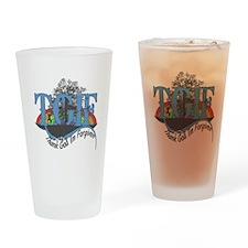 TGIF Forgiven Drinking Glass