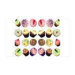 Cupcakes 38.5 x 24.5 Wall Peel