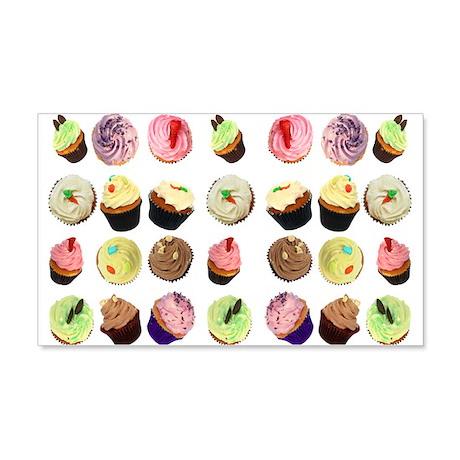Cupcakes 22x14 Wall Peel