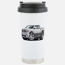 Ram White-Grey Dual Cab Stainless Steel Travel Mug