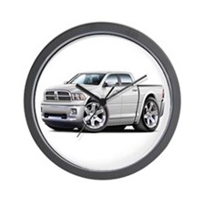 Ram White Dual Cab Wall Clock