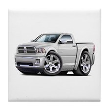 Ram White Cab Tile Coaster