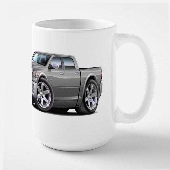 Ram Silver Dual Cab Large Mug