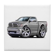 Ram Silver Truck Tile Coaster
