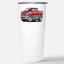 Ram Red-Grey Dual Cab Stainless Steel Travel Mug