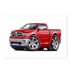 Ram Red Truck Postcards (Package of 8)
