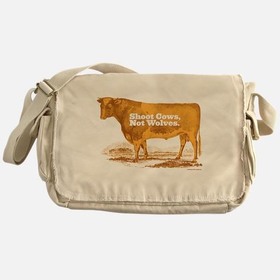 Shoot Cows Messenger Bag