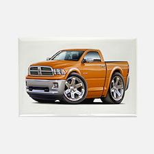 Ram Orange Truck Rectangle Magnet