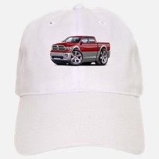 Ram Maroon-Grey Dual Cab Baseball Baseball Cap