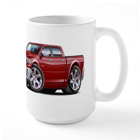 Ram Maroon Dual Cab Large Mug