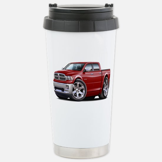 Ram Maroon Dual Cab Stainless Steel Travel Mug