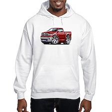 Ram Maroon Truck Hoodie