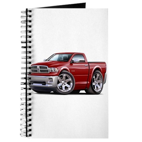 Ram Maroon Truck Journal