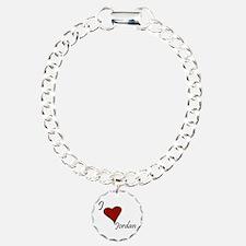 Jordan Charm Bracelet, One Charm