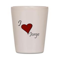 Jorge Shot Glass